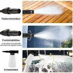 Lave-pression Électrique 1520psi 1400w High Power 120bar Jet Cleaner Home Patio