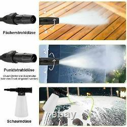 Lave-pression Électrique 1520psi/1400w High Power 120bar Jet Cleaner Home&paito