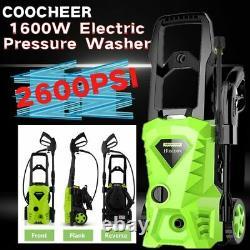 Lave-pression Électrique 2500psi 1600w 135bar Jet Cleaner Patio Car Puissant Nouveau