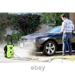 Lave-pression Électrique 2500psi 1600w High Power 135bar Jet Cleaner Patio Car