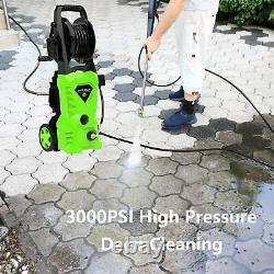 Lave-pression Électrique 2600psi 1600w High Power 135 Bar Jet Cleaner Patio Car