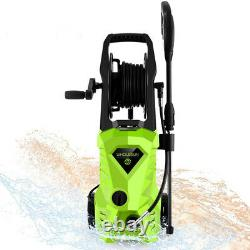 Lave-pression Électrique 2600psi High Power Jet Wash Garden Patio De Voiture Outils Nouveau