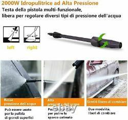 Lave-pression Électrique 3000psi Jet De Lavage D'eau Haute Puissance Patio Car 150bar Nouveau