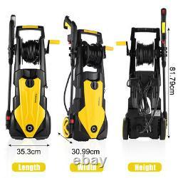 Lave-pression Électrique 3500 Psi/150 Bar Eau High Power Jet Wash Patio Car Uk