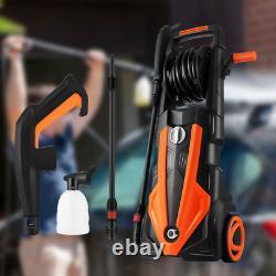 Lave-pression Électrique 3500 Psi/1900w Eau High Power Jet Wash Patio Car