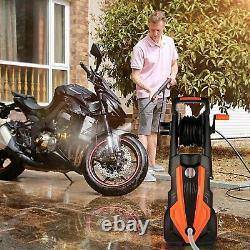 Lave-pression Électrique 3500psi / 150 Bar Jet De Lavage D'eau Haute Puissance Patio Voiture