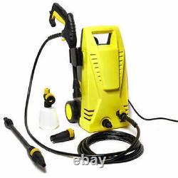 Lave-pression Électrique Jet Haute Puissance 1300 Psi/90 Bar Wash Water Patio Car