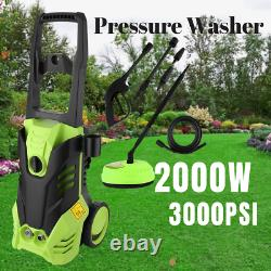 Lave-vaisselle Électrique Haute Puissance 3000psi/150 Bar Jet Wash Patio Car Cleaner