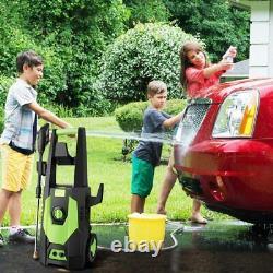Lave-vaisselle Électrique Haute Puissance 3500psi Water Jet Patio Cleaner 150bar 1800w