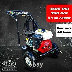 Laver À Pression D'essence 3500psi / 240bar Laver À Jet D'énergie