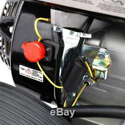 Laveuse À Haute Pression 3950 Psi De Pompe À Eau D'essence Mobile Alimentée Par Essence Mobile