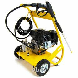 Laveuse À Pression D'essence 3000psi 200bar 6.5hp Petrol Driven Jet Power Washer