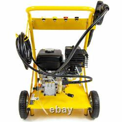 Laveuse À Pression D'essence 3000psi 200bar 6.5hp Petrol Power Washer & Patio Cleaner