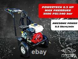 Laveuse À Pression D'essence 3500psi / 240bar Power Jet Cleaner Conçu Par L'allemagne