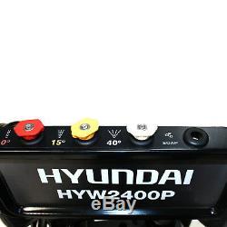 Laveuse À Pression D'essence Hyundai 2465psi 6hp 474l / Heure Haute Laveuse À Jet