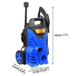 Laveuse À Pression Électrique 1860 Psi / 128 Water Bar High Power Jet Wash Patio Voiture