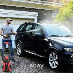 Laveuse À Pression Électrique 2400 Psi/165 Bar Eau Haute Puissance Jet Wash Patio Car