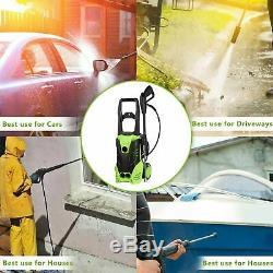 Laveuse À Pression Électrique 3000 Psi / 150 Bar Eau Haute Puissance Jet Wash Patio Automobile De L'ue