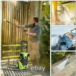 Laveuse À Pression Électrique 3000 Psi/150 Bar Nettoyeurs De Lave-jet À Grande Puissance