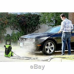 Laveuse À Pression Électrique 3000psi High Power Jet Wash Garden Patio Cleaner Voiture Ue
