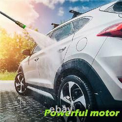 Laveuse À Pression Électrique 3500 Psi 2.6gpm Eau Haute Puissance Jet Wash Patio Car Nouveau