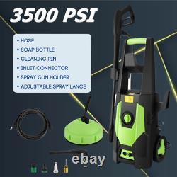 Laveuse À Pression Électrique 3500psi 1800w Laveuse Haute Puissance 150bar Jet Cleaner Car