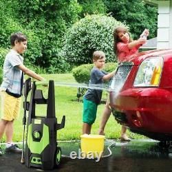 Laveuse À Pression Électrique 3500psi/2.0gpm Eau Haute Puissance Jet Wash Patio Car Home