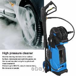 Laveuse À Pression Électrique 3800psi Water High Power Jet Washer Patio Car Uk