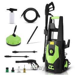 Laveuse À Pression Électrique Haute Puissance Jet Wash Garden Car Cleaner Patio 3500psi Ue