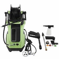 Laveuse À Pression Électrique High Power Jet 2200psi/150bar Hose Water Wash Patio Car