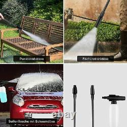 Laveuse À Pression Électrique High Power Jet Wash Patio Car Garden Cleaner 3500psi Royaume-uni