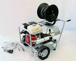 Laveuse À Pression Essence Honda Gx390 / 13 Cv, Moteur 4000 Psi, 17 Litres