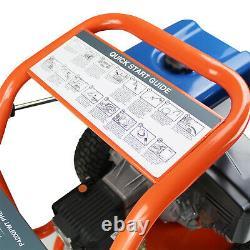Laveuse À Pression Essence Puissante 4200 Psi 290 Bar + Nettoyeur Rotatif 24 Pouces