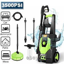 Laveuse Électrique À Haute Pression 3500psi/150 Bar Power Jet Water Patio Car Cleaner