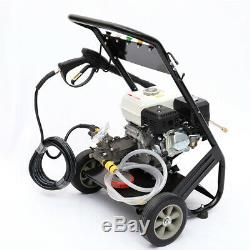 Machine À Laver Mobile À Haute Pression À Essence Avec Moteur À Combustion 3950psi