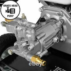 Moteur À Pression D'essence Jet Washer 3000psi 6.5hp Avec Pistolet Tuyau Royaume-uni