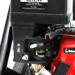 Nettoyeur 9l / Min De Nettoyeur À Haute Pression De Rondelles De Jet De La Laveuse 3950 Psi 8hp De Puissance De Pression D'essence Tranquille
