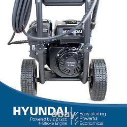 Nettoyeur À Haute Puissance Petrol Pressure Washer 3100psi 10l/min Jet Washer Hyundai
