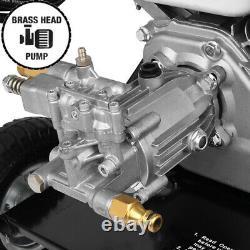 Nettoyeur À Pression D'essence 3000psi Jet De Haute Puissance Powerful Wash Patio Car Cleaner
