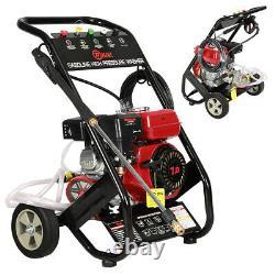 Nettoyeur À Pression D'essence 3950psi 8hp Power Jet Cleaner High Power Garden Uk