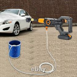Nettoyeur De Puissance De Lave-pression Sans Fil 320psi Avec Batterie 2.0a Et Chargeur Portable