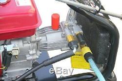 Nettoyeur Haute Pression À Essence 8.0hp 3950psi Awesome Power T-max Pro 28 Meter Hose