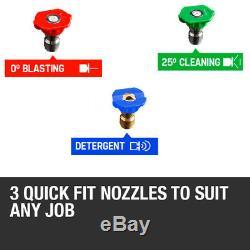 Nettoyeur Haute Pression À Jet Électrique Pour Laveuse À Pression Électrique 2400 Psi / 165 Bar Wilks-usa
