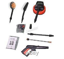 Nettoyeur Haute Pression Portable Switzer 2000w Kits De Nettoyage À Jets Puissants