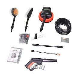 Nettoyeur Haute Pression Portable Switzer 2500w 2830psi Kits De Nettoyage À Jet De Puissance
