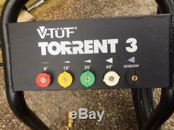Nettoyeur Haute Pression Torrent 3 Authentique V-tuf Ex Demo 15 Litres 4000psi 800 € Plus Tva