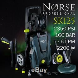 Norse Professionnel De Haute Puissance Électrique Pression / Lave-glace Jet 2350psi Sk125