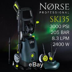 Norse Professionnel De Haute Puissance Électrique Pression / Lave-glace Jet 3000psi Sk135