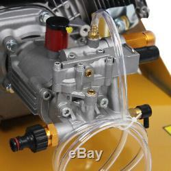 Nouveau 3000 Psi 7.0hp Benzine Jet Haute Puissance Laveuse À Pression 4.7l Réservoir De Carburant