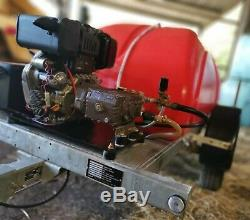 Ouest Bowser / Yanmar L100 10hp Diesel Industriel Nettoyeur Haute Pression Power Jet